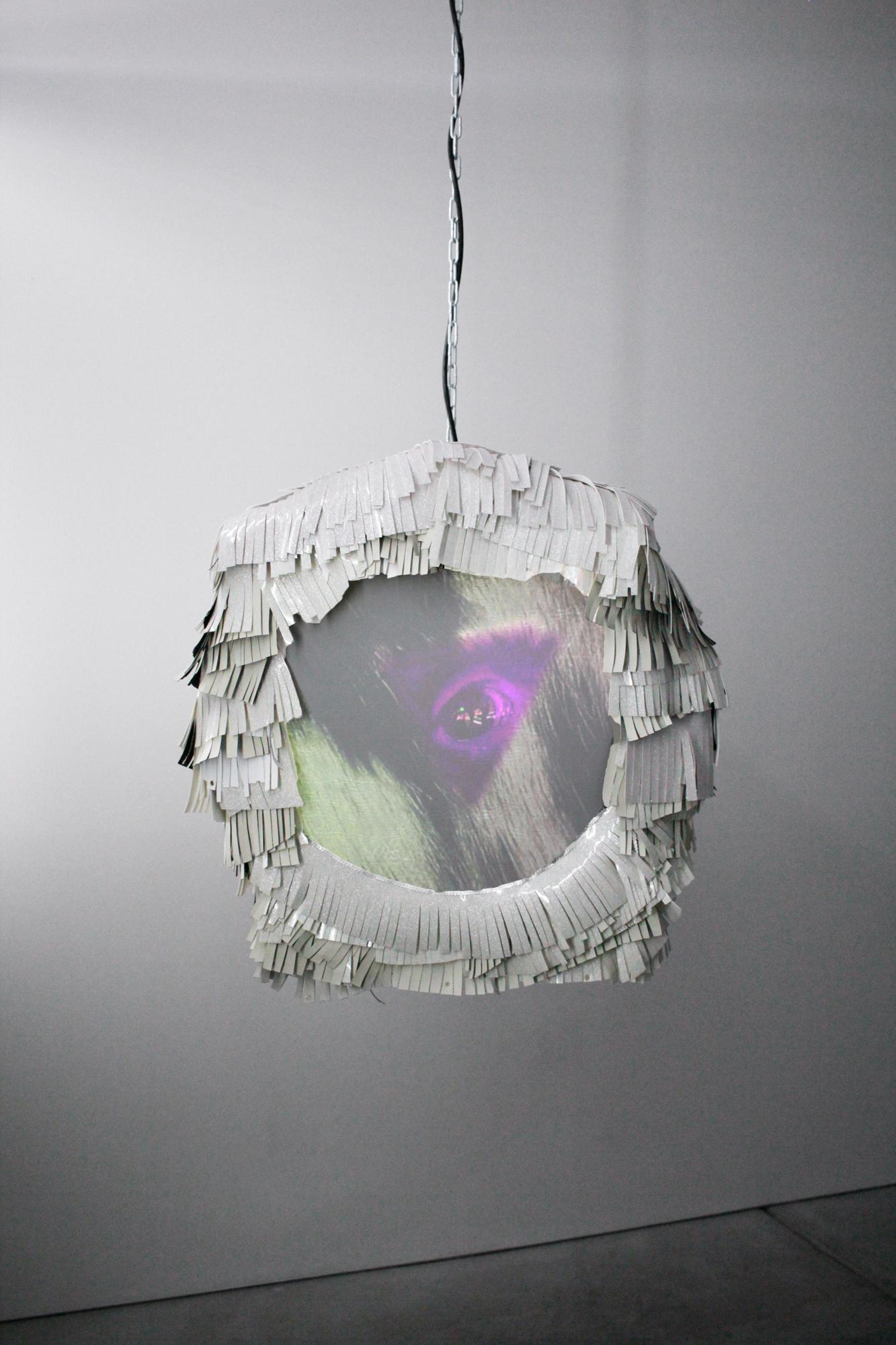 Kate Rhoades, Calfskin, installation view