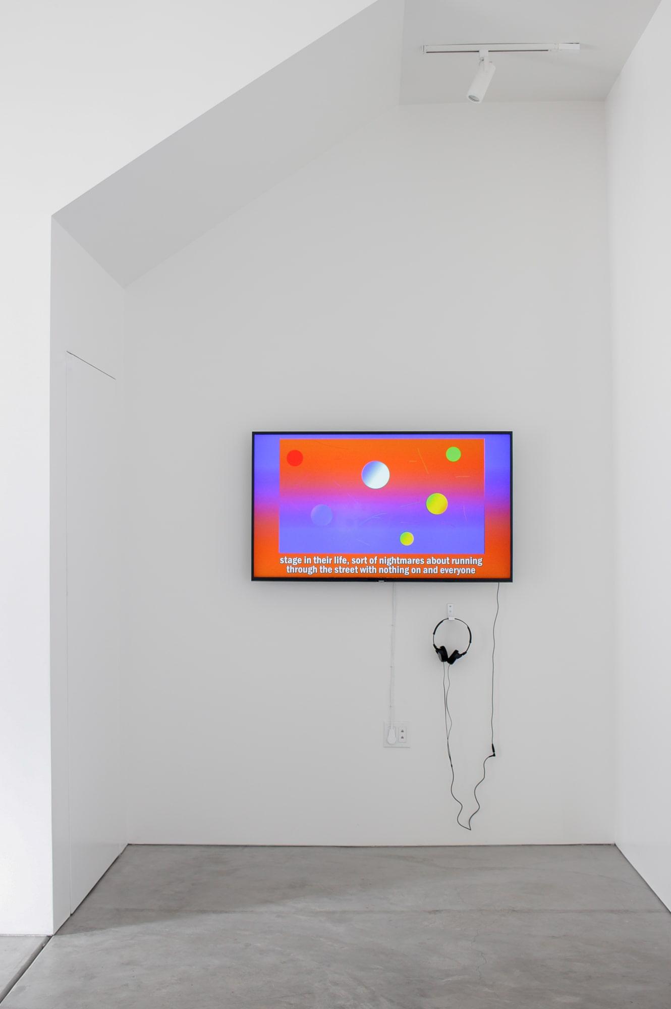 Installation View: Arjun Ram Srivatsa, episode #2 , minute 1