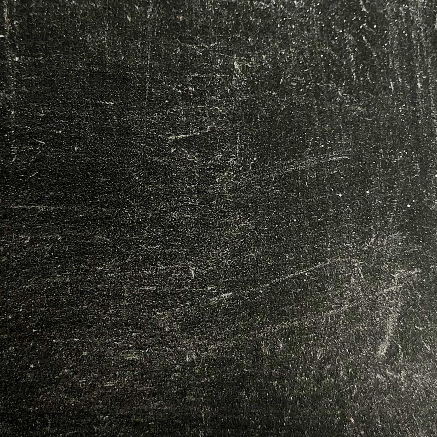 Silver Rubbed Black