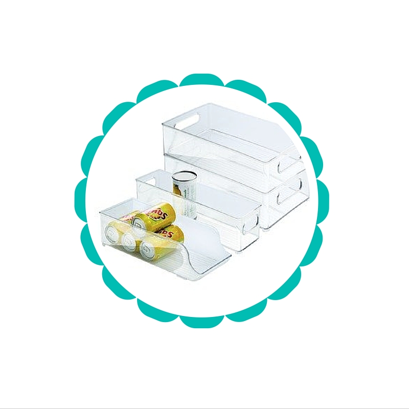 InterDesign Fridge and Freezer Storage Bins