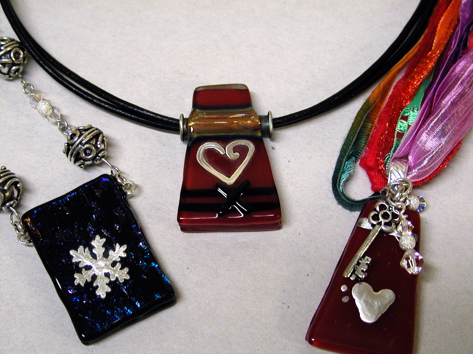 Fused Glass Pendant Workshop -