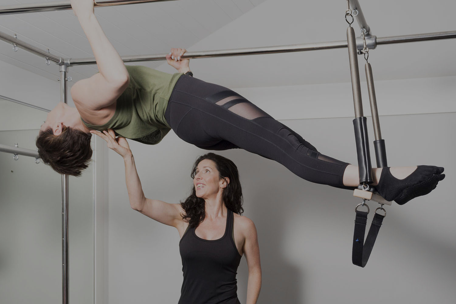 Studio PILATES - The traditional, equipment-based Pilates workout, Studio Pilates is customised to your needs, whether it's strengthening, rebalancing, re-shaping or rehabilitating.