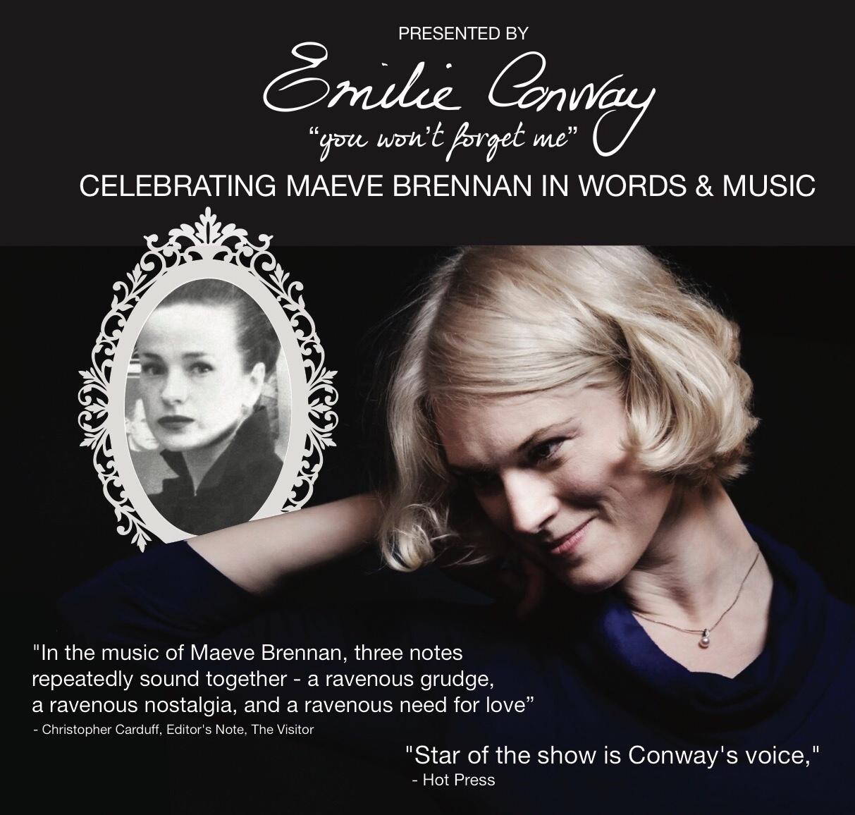 You Won't Forget Me: Celebrating Maeve Brennan