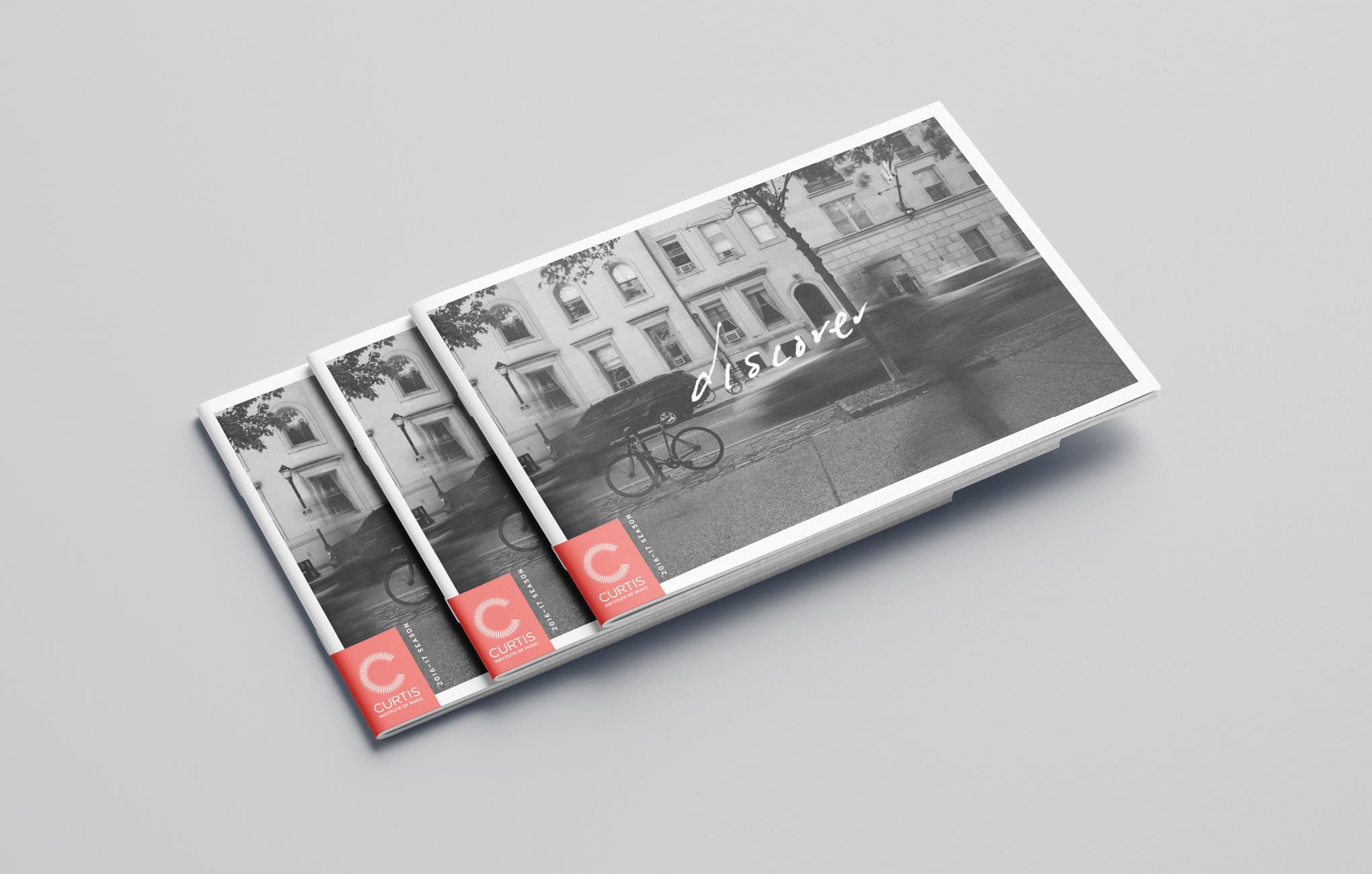 Curtis Institute of Music — Season Brochure