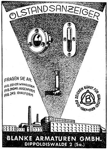 Werbeanzeige Anfang 19. Jahrhundert