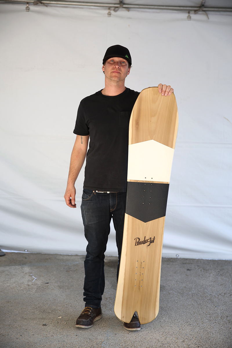 order a custom snowboard - you design it, we build it
