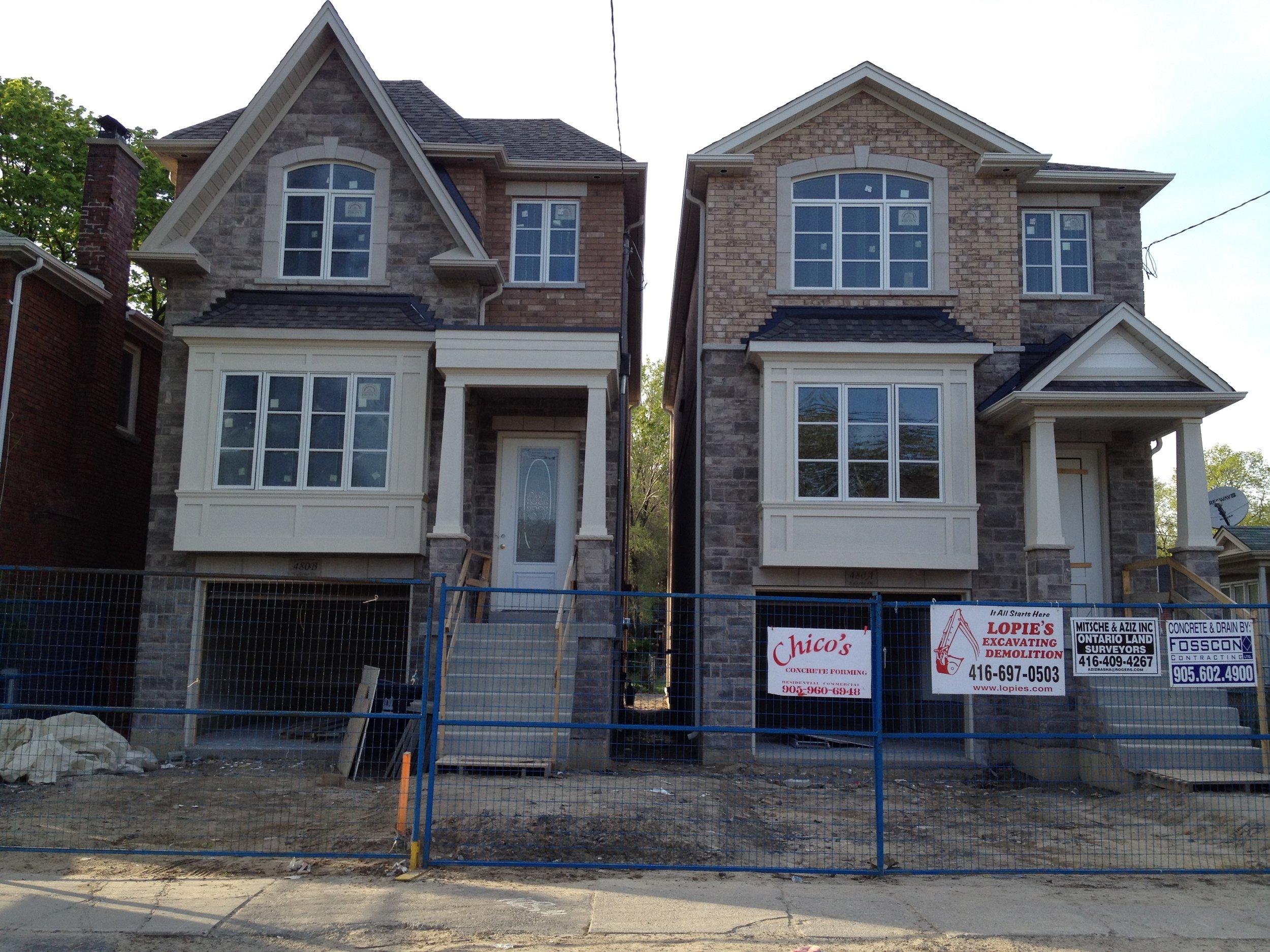 Custom home in Scarborough, Ontario