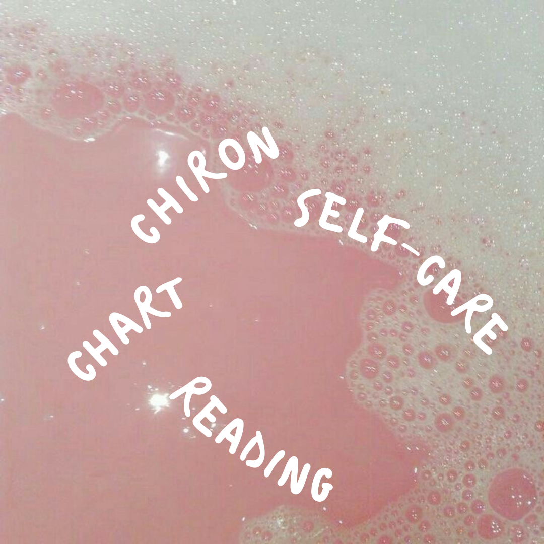 Chiron Self-Care Chart Reading - Chiron is the Wounded Healer of the zodiac. It represents your trauma and hurt in this life, but also guides us towards our purpose for helping others to heal. When you book this reading using the button below, I'll reach out via email to get your birth time, place, and date. Once I have that information, the reading will be done within 2-3 business days. This type of reading is particularly powerful because it will offer insight into your own trauma in this life, the toxic patterns you'll work to break, and the ways you can help others heal through your wounding.