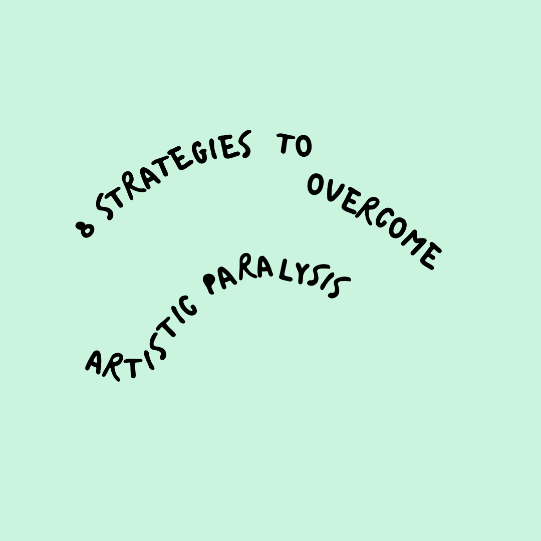 8 Strategies to Overcome Artistic Paralysis - Digital ZineCreatives often struggle with imposter syndrome, feeling inadequate, or simply being unmotivated. This zine offers strategies to help you work through the discomfort of not creating in order to get you back to doing what you feel called to do.Upon payment, a pdf of the zine will be emailed to you within one business day!