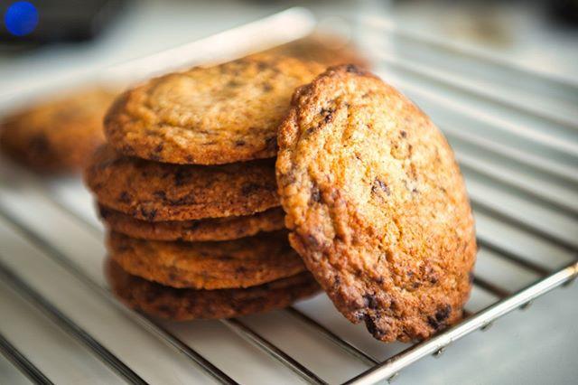 VCCC ovvero Valtellina Chocolate Chips Cookies!  #AngelFood #cioccolato #biscottoni #cookies #Valtellina #burro #Delebio #grano_saraceno #miele #Valchiavenna #la_nostra_terra  #i_nostri_ingredienti #genuini #unici #deliziosi