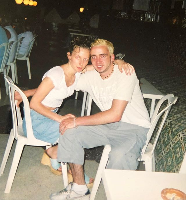 18 years together with @dairyallergymum - half our lives 🙌 Yes we are 36 haha! Here's a #throwback to our first holiday together in #tunisia 🙌 Won't the real #slimshady please stand up 🙋‍♂️🤣 Happy Anniversary to my #bestfriend and the #worldsbestmom ❤️ #theirisheminem #whatwasithinking 🤣 . . . . . . . . . . . . . . . #dairyallergy #dairyfreelife #vegansofinsta #instacool #picoftheday #photooftheday #photography #irishfamily #stayathomedad #sahd #cmpa #instafashion #instadaily #naturephotography #throwbackthursday #throwback😍 #instacool #photography