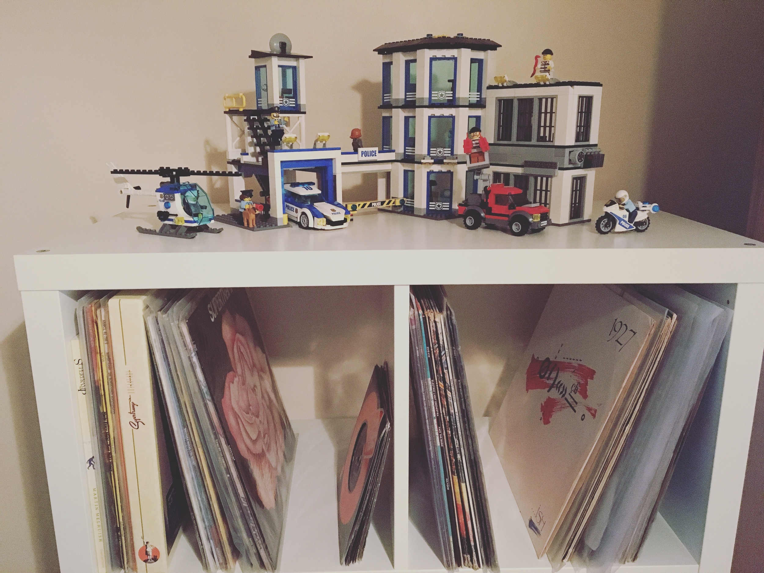 Vinyl and Lego are helping me think like my younger self.