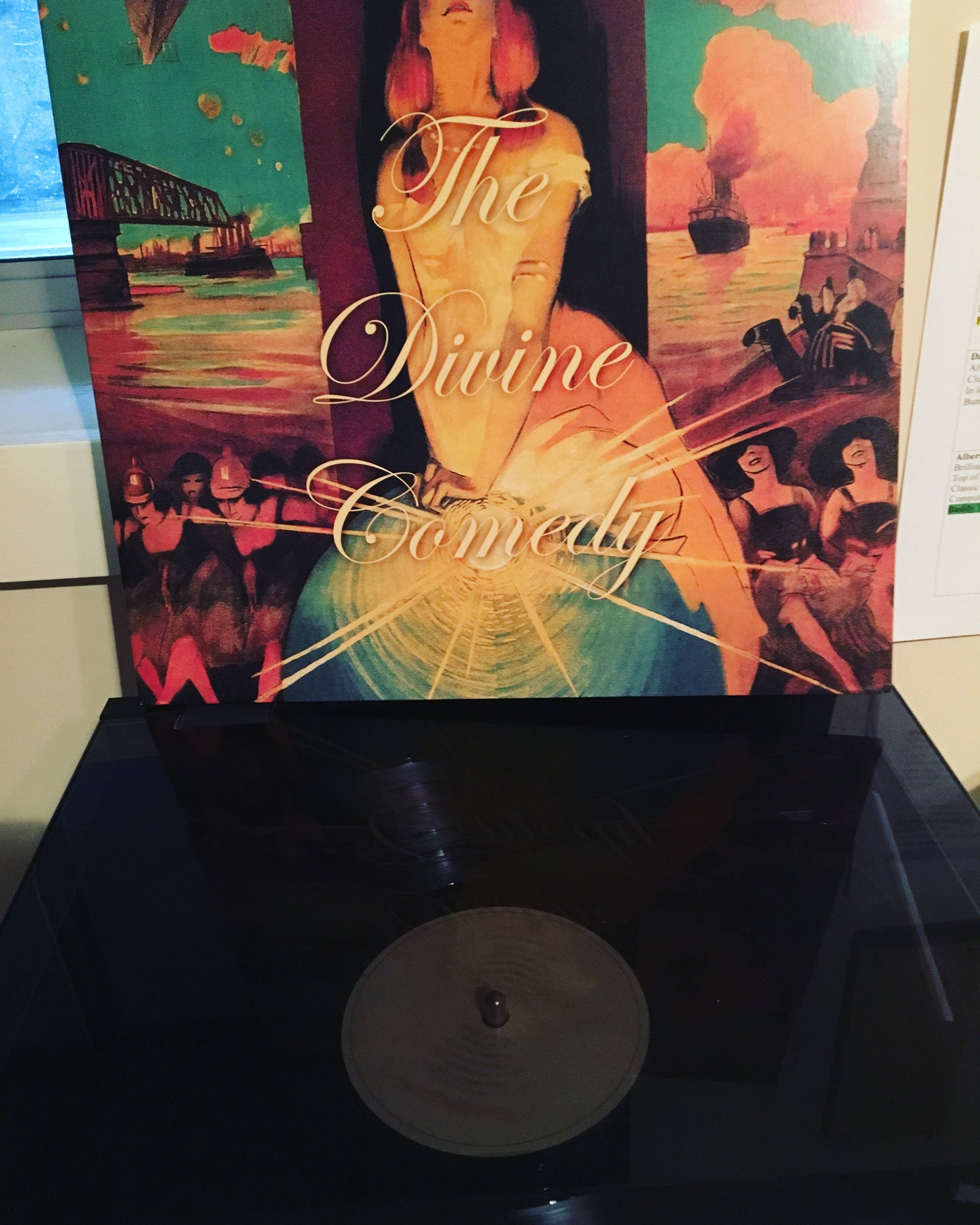My favourite album of 2016: 'Foreverland' by The Divine Comedy.  There's really not a huge point to this post. I've been slack updating the blog and wanted to share something simple. And put simply, music is once again bringing me joy.  What's bringing you joy at the moment?  Tim