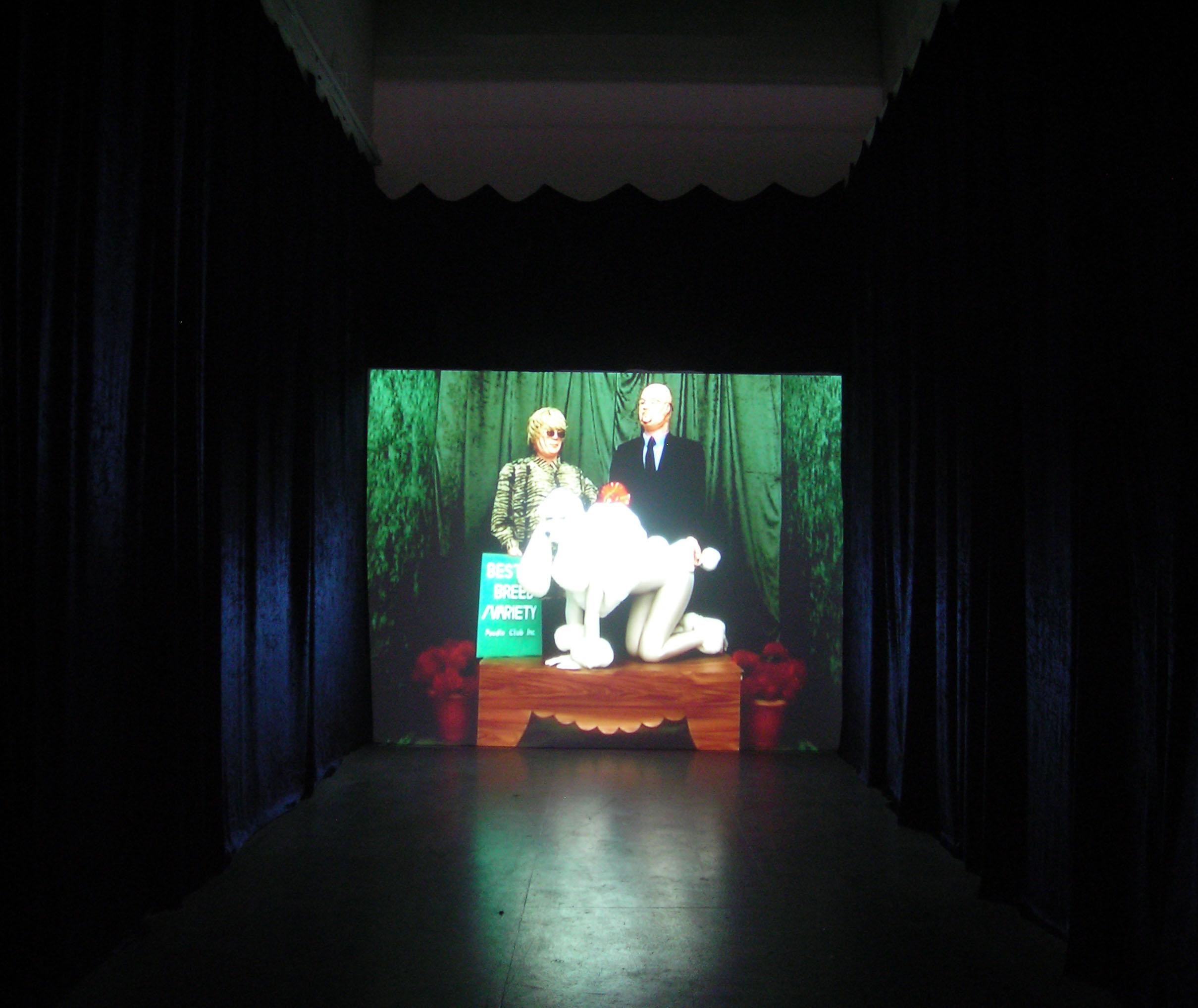Installation at The Fridge Gallery, 2007 Southside Studios, Glasgow, UK
