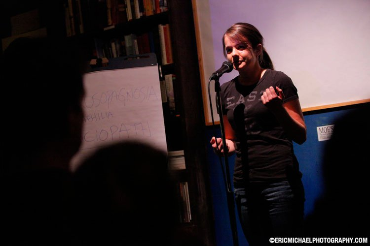 On the Story Collider stage for the first time in 2011!
