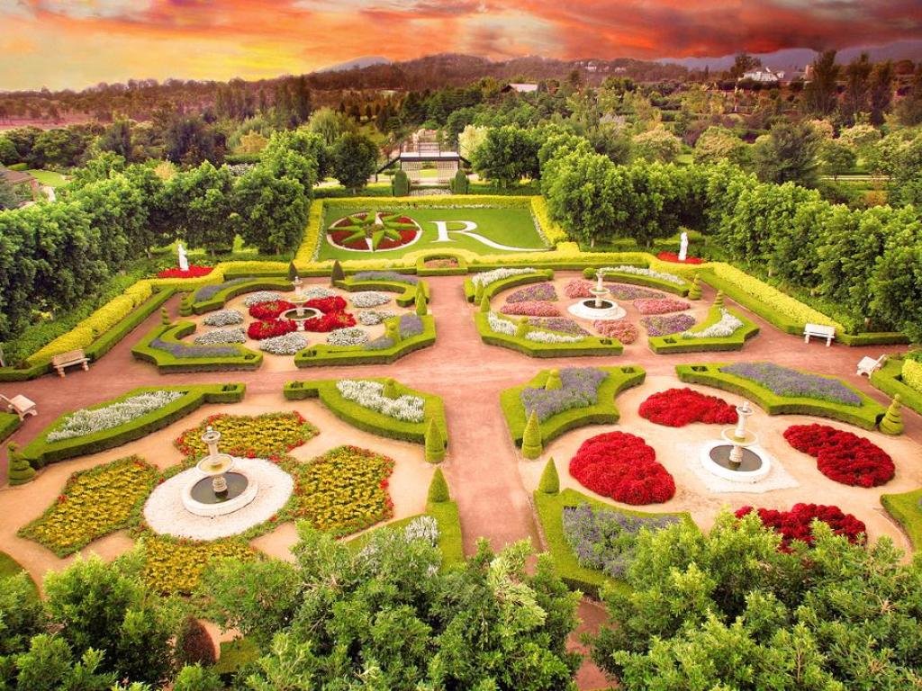 Hunter Valley Gardens - entry tickets available for purchase from reception