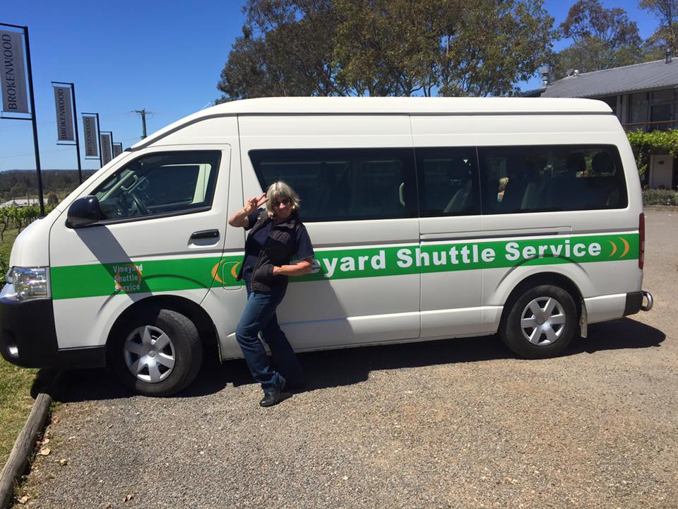 Vineyard Shuttle - offering full and half day tours 7 days a weekask reception about booking a tour during your stay