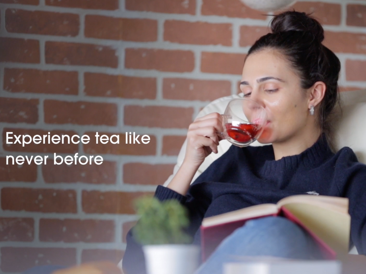 Redefine the tea ritual