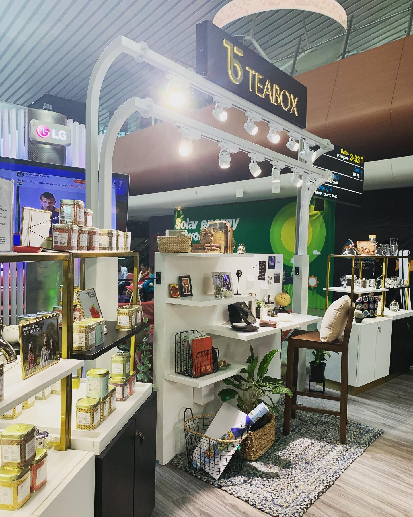 India's first ever tea experiential store