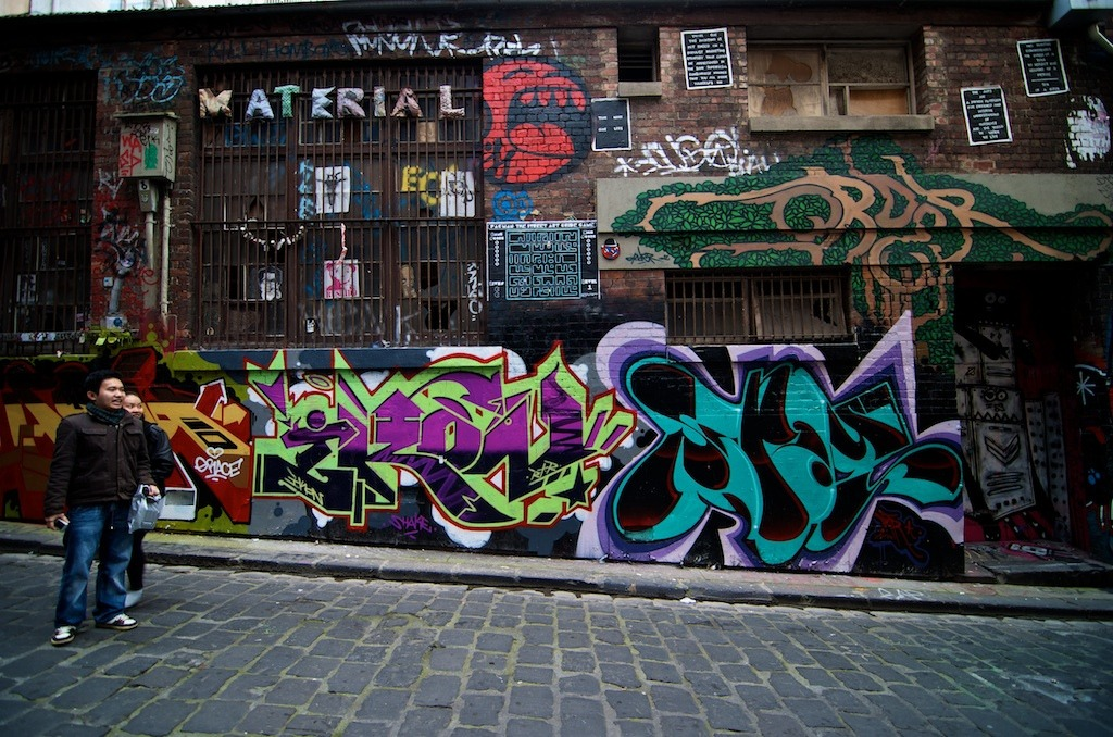 Street Art is an urban inspiration in the CBD - Source: Katherine Lim Via Flickr