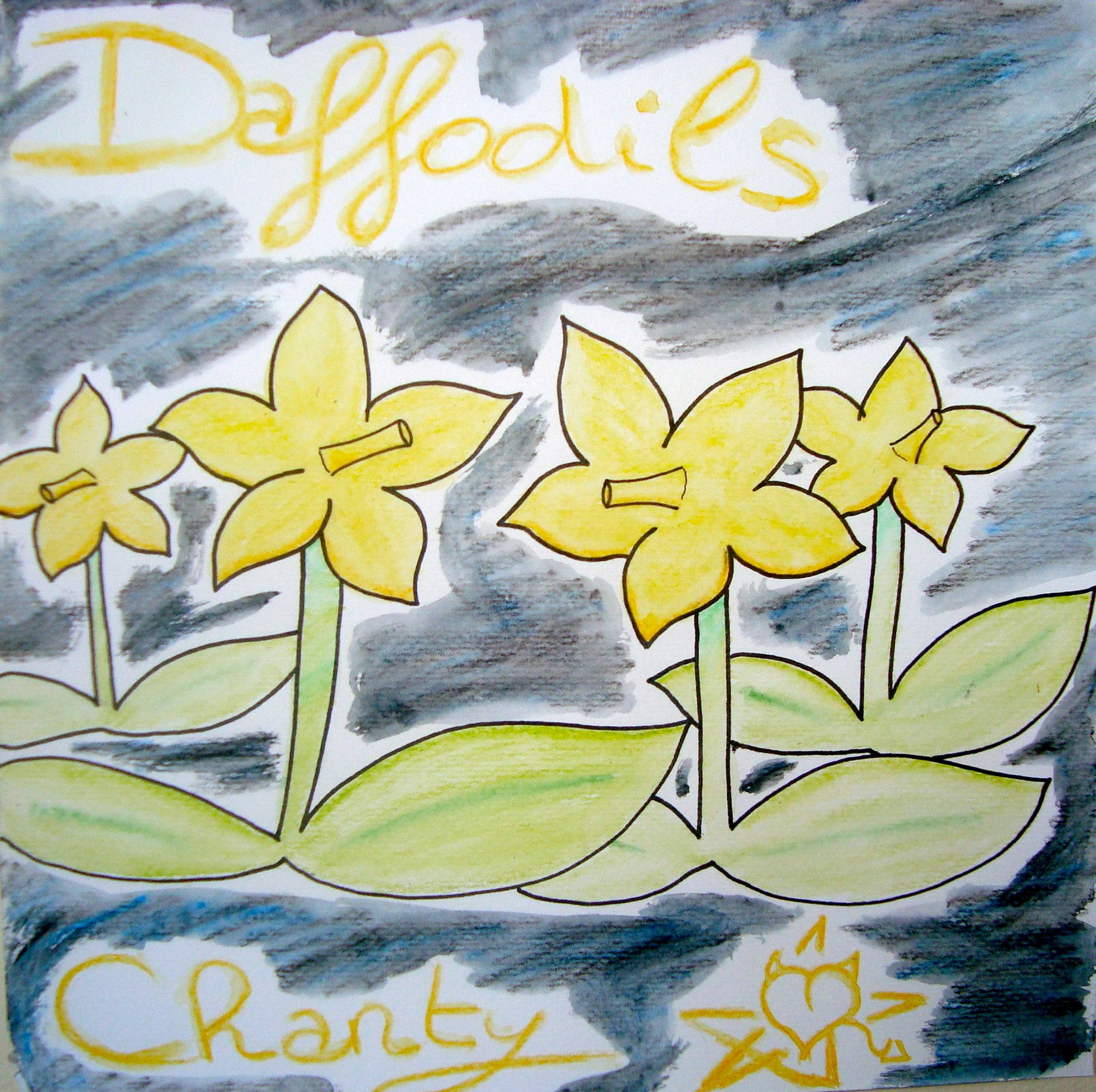 DAFFODILS - Choosing her brother, MINKY TRES-VAIN, to perform on and produce her debut EP, CHANTY TRES-VAIN also hired The SIBERIAN ALIEN in order to complete the line-up for her studio-backing band.