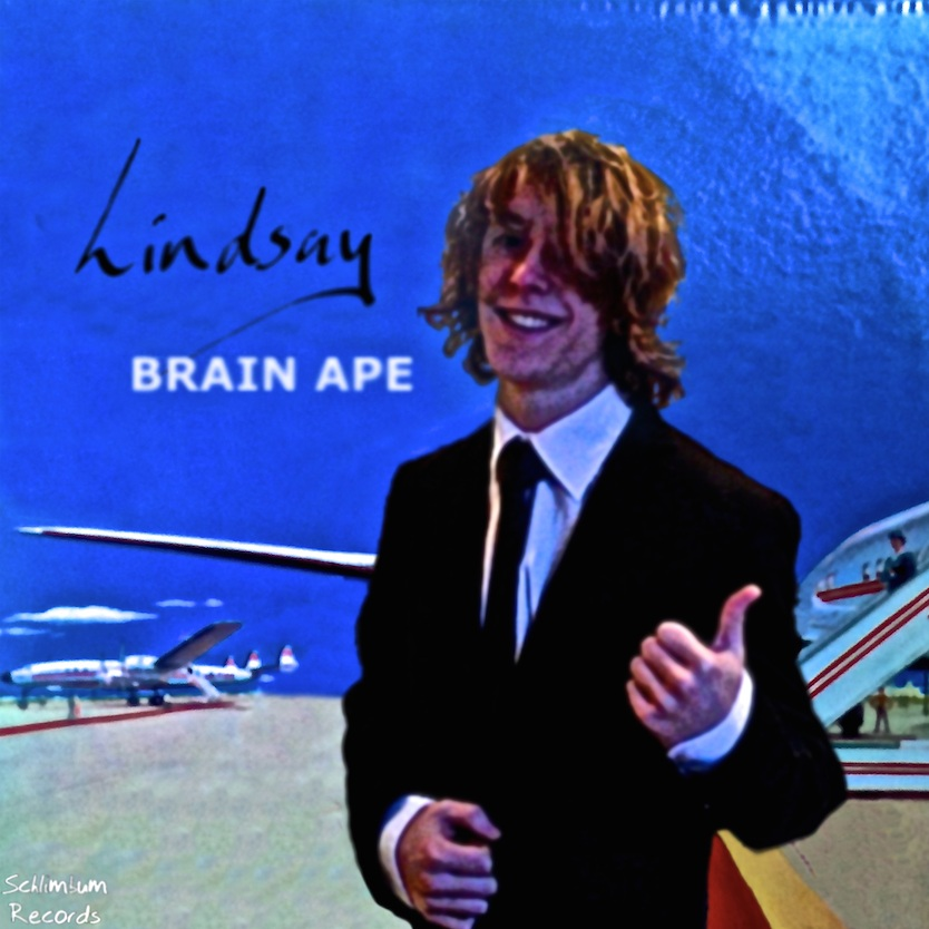 LINDSAY - 'LINDSAY' was released as the third single from BRAIN APE's debut album, 'DARA O''.Both 'LINDSAY' and the band's track 'RED RASH' - which also featured on the record - were originally credited under different titles on the album's physical copies, with the songs being called 'CECI EST UNE CHANSON D'AMOUR' and 'THE SONG THAT EVERYONE WILL SKIP' respectively. The back cover of the record features the true names of the tracks crossed out, with their alternative names written next to them. The band have never addressed this fact publicly.