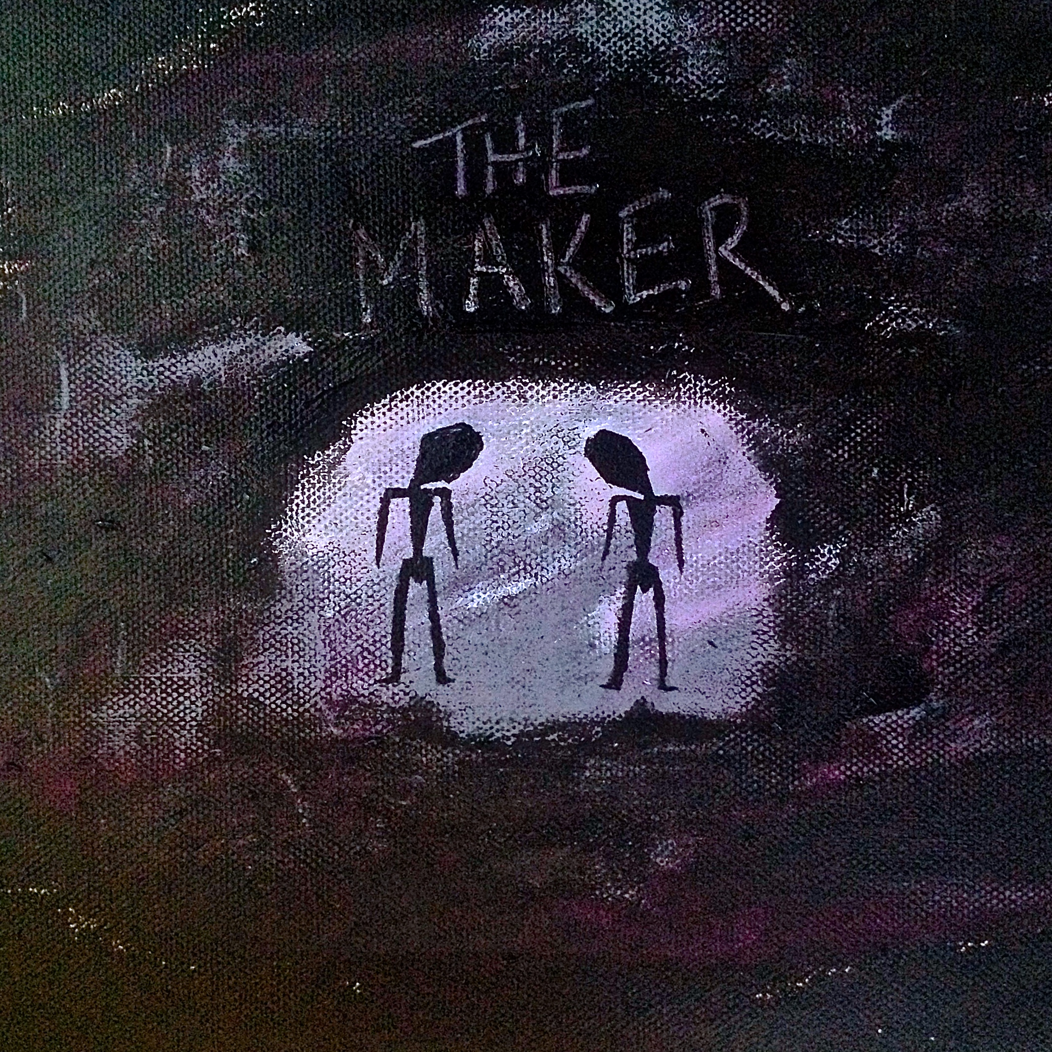 THE MAKER - Written as a collaboration between MINKY TRES-VAIN and the now-defunct YouTube channel 'MORPH BASS MAGIC', this short lived band released 'THE MAKER' as their debut single.
