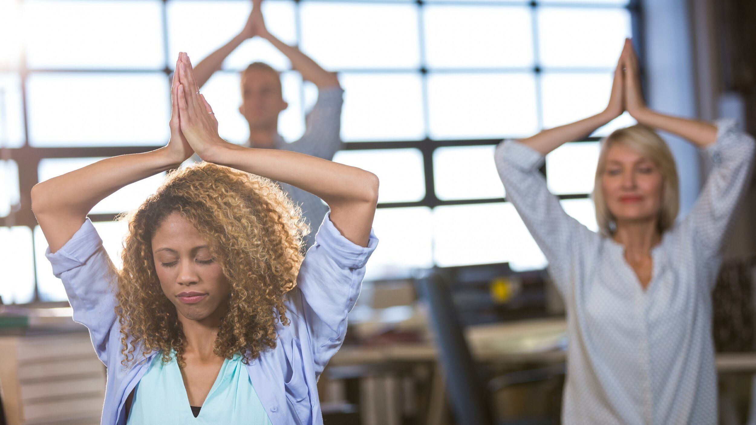 Corporate Yoga - Wellness for your employees and for your business