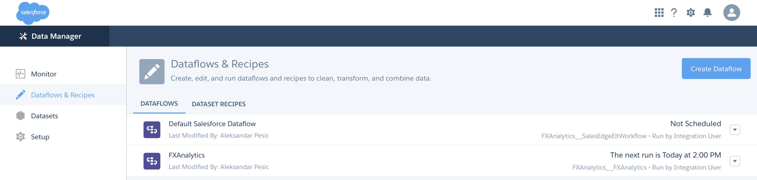 DataflowAndRecipies