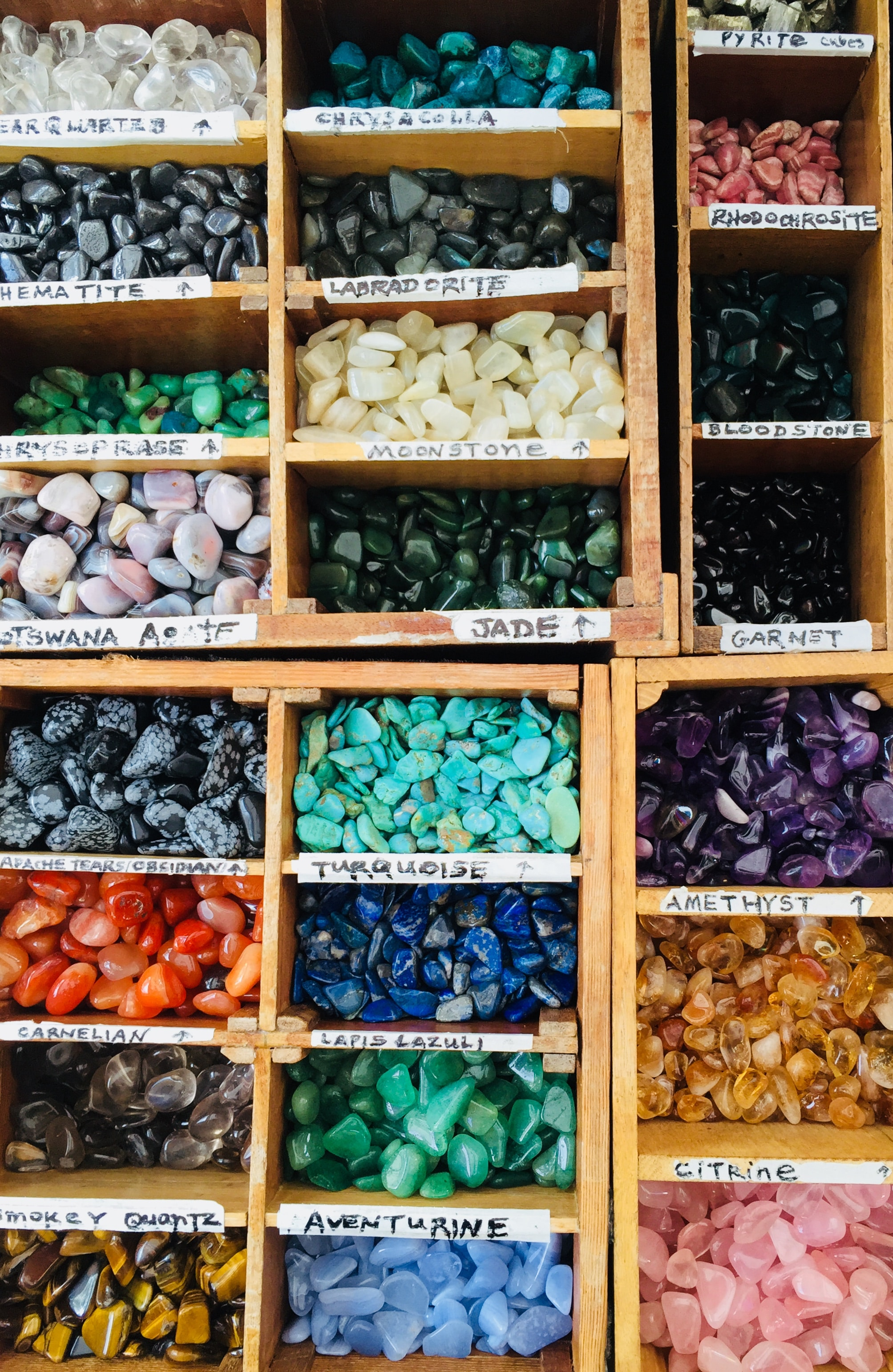 - 70-80% of colored gemstones come from artisanal and small-scale mining.Image: Emily Karakis on Unsplash
