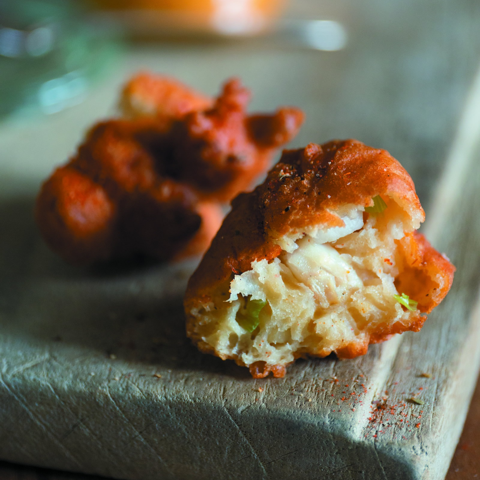 Catfish Beignets Remoulade Dipping Sauce -