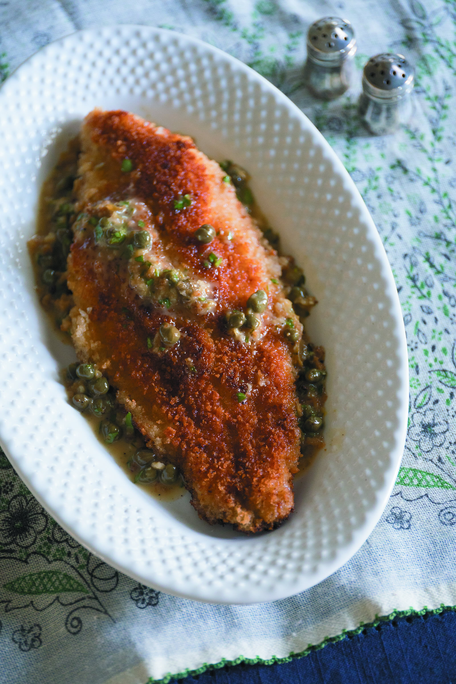 Catfish Piccata -