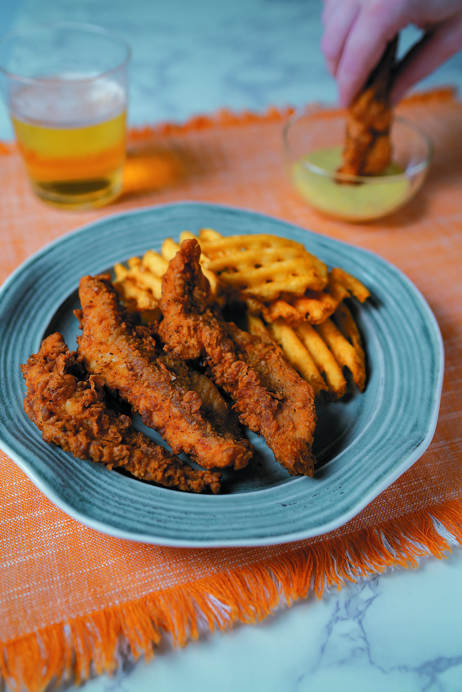 Perfect Fried Catfish Strips -
