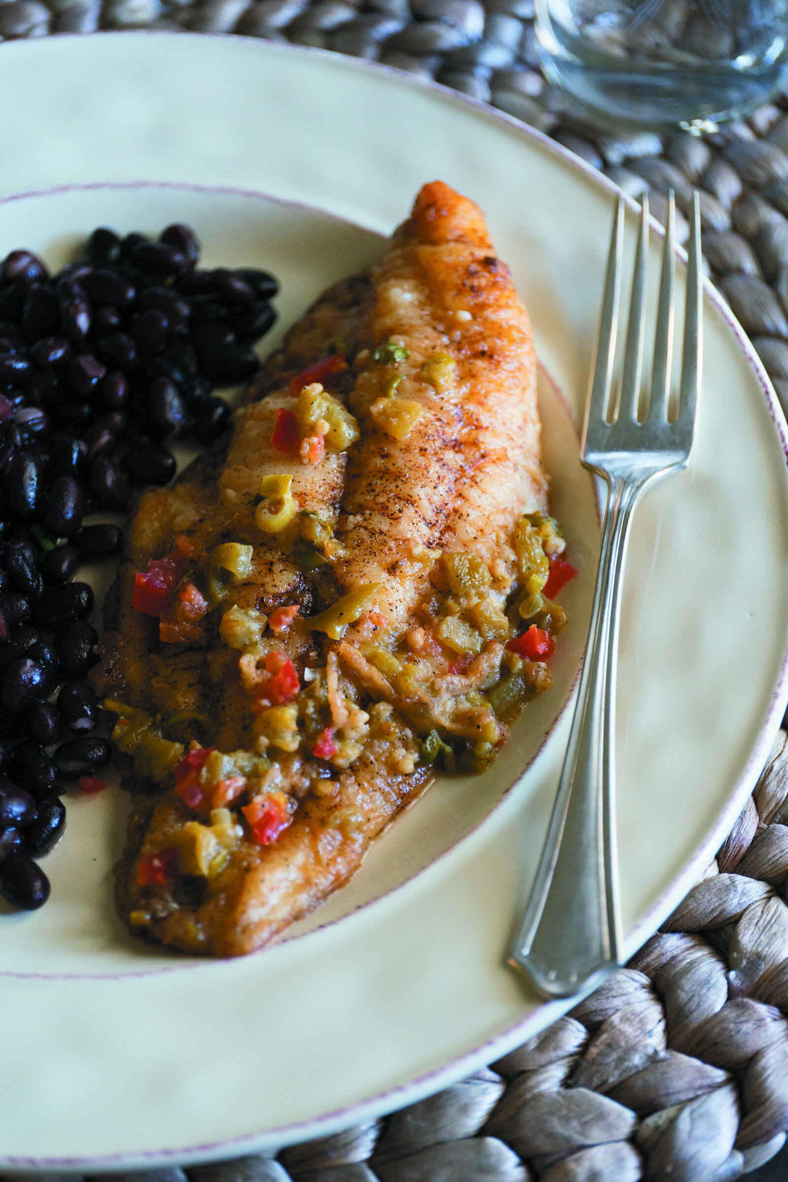 Southwestern Pan-Fried Catfish -
