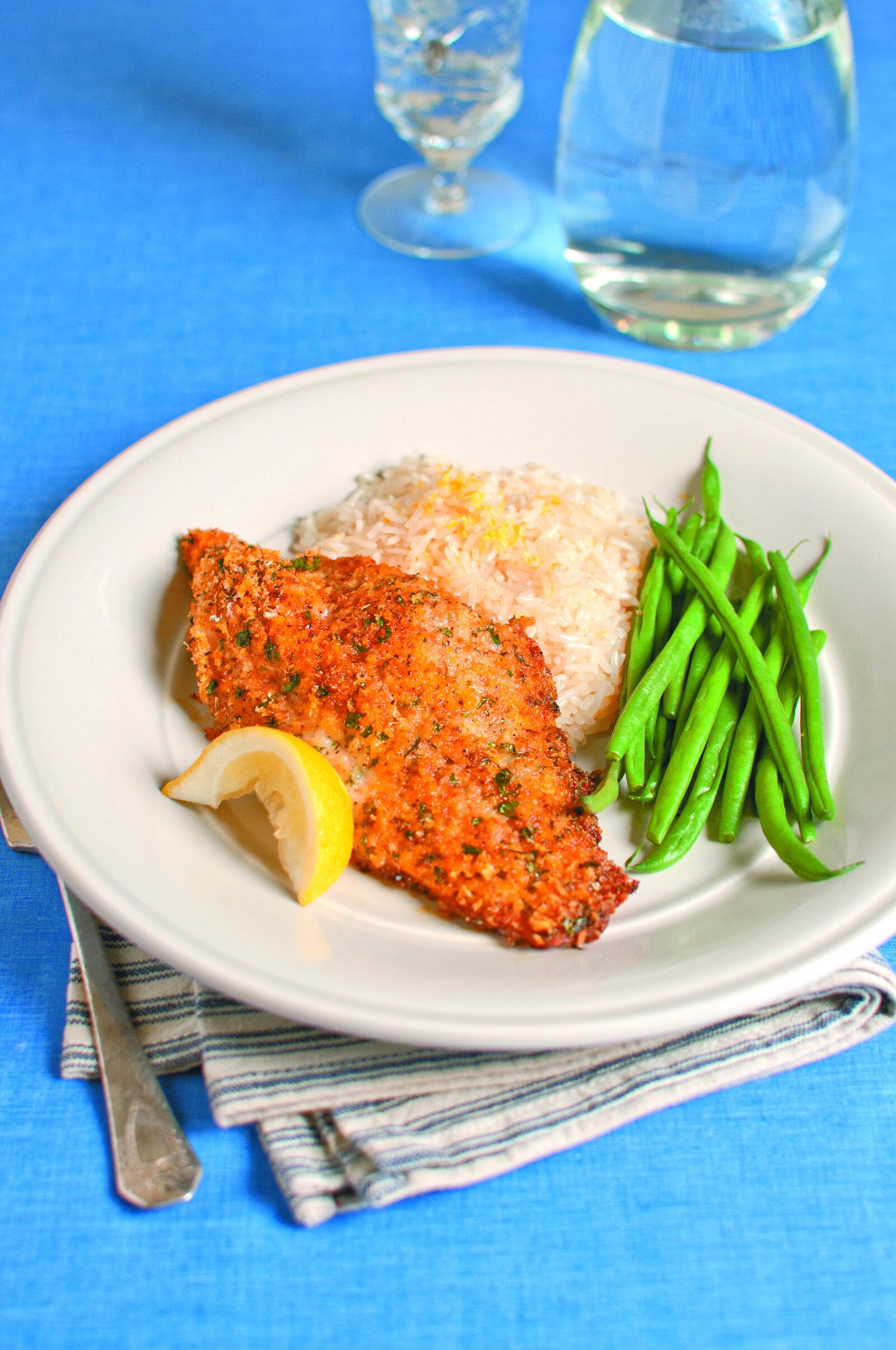 Baked Italian-Style Catfish -