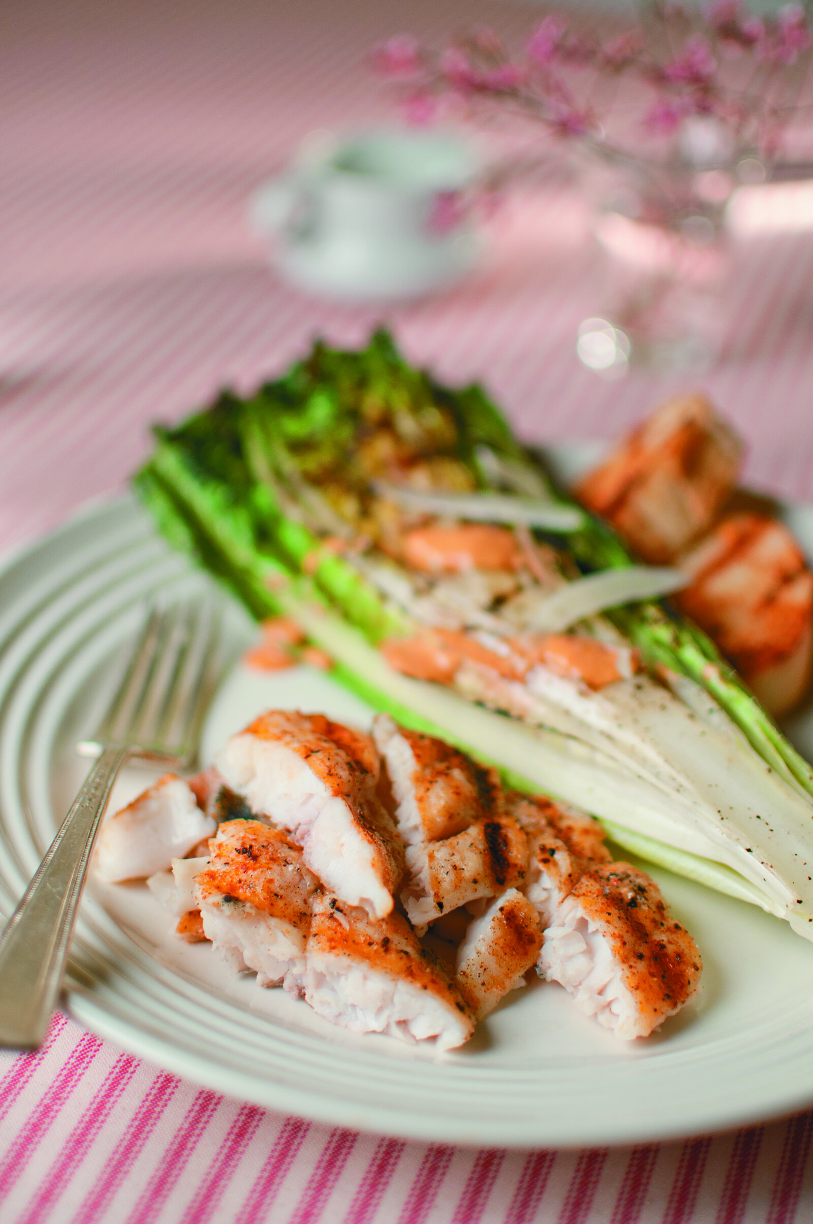 Hail, Caesar! Grilled Catfish -