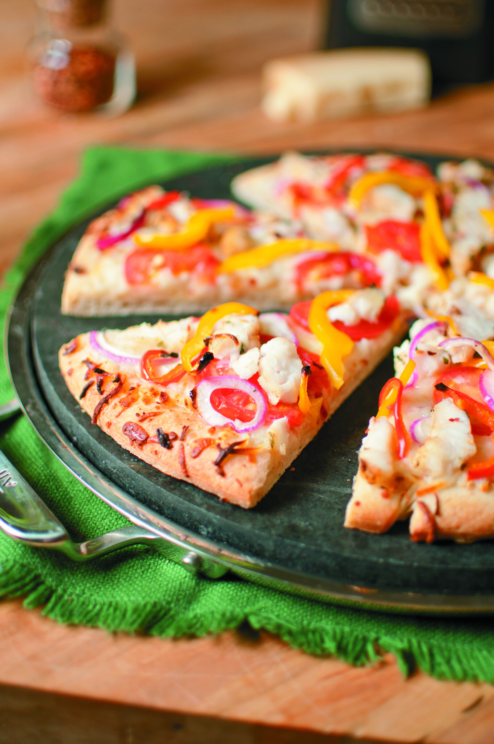 Catfish Pizza -