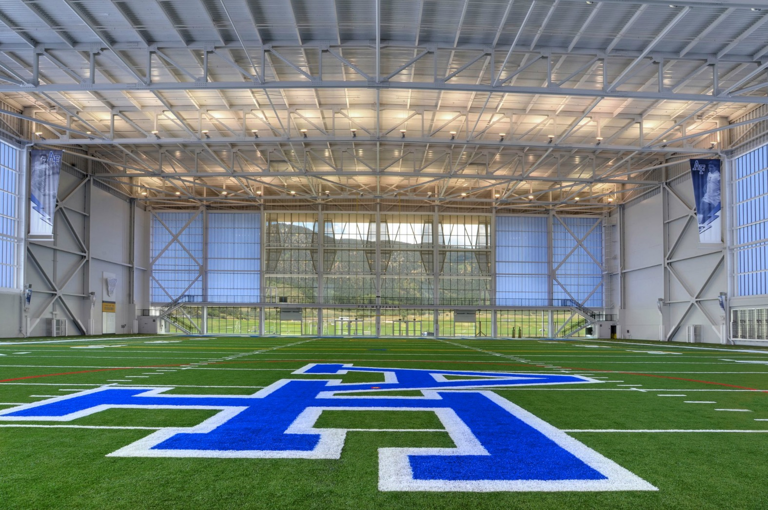 The Holaday Athletic Center (interior view)