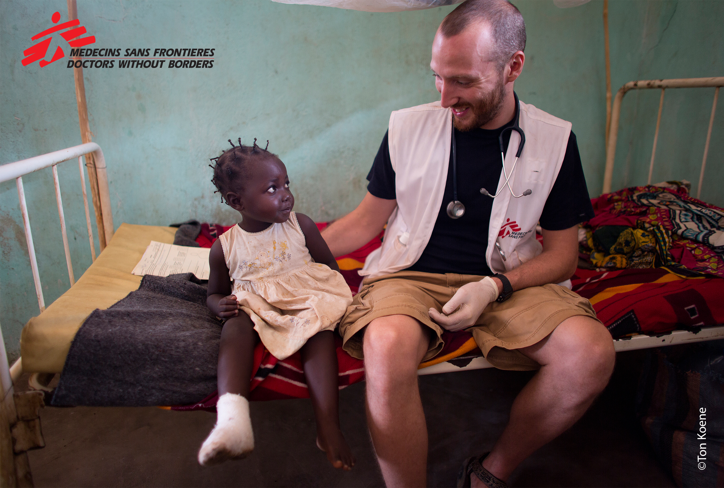 Hospital in the Central African Republic, copyright Ton Koene.jpg