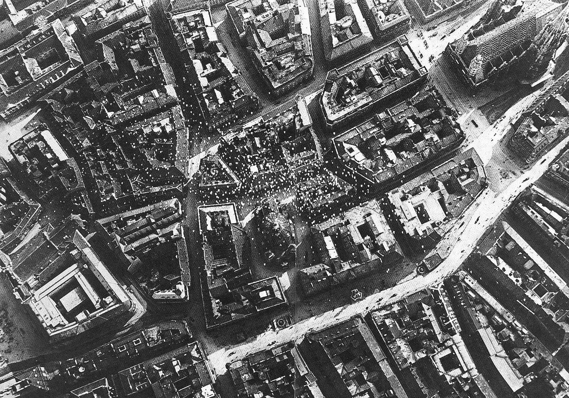 D'Annunzios Flugblätter über Wien, 19. August 1918