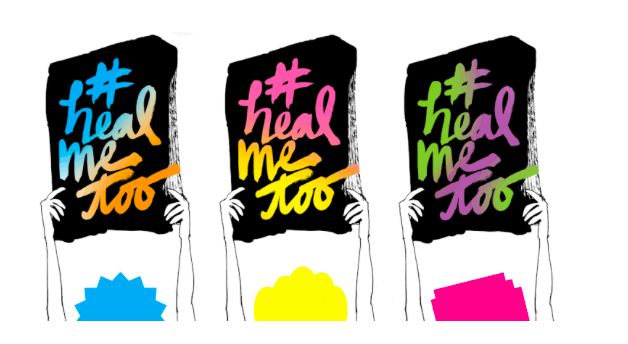 #HealMeToo Festival - From March 27 through April 14 2019 at NYC's West Village IRT Theater, the first-ever #HealMeToo Festival brought together over 50 artists and experts for 30 performances, panels, podcast tapings, and participatory workshops.