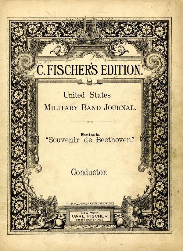 """Fantasia """"Souvenir de Beethoven,"""" Opus 137"""