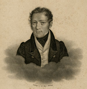Carl Czerny (1791-1857)  Portrait engraving by Carl Mayer published by Schubert & Niemeyer in Hamburg and Itzehoe, a. 1830 Gift of the American Beethoven Society, 2004