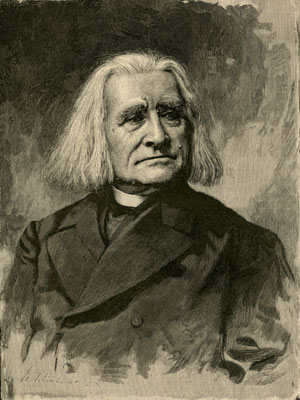 Franz Liszt (1811-1886)  Woodcut engraving, ca. 1880 Gift of the American Beethoven Society, 2006
