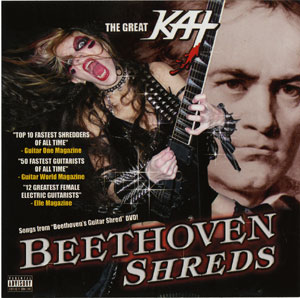 The Great Kat, Beethoven Shreds