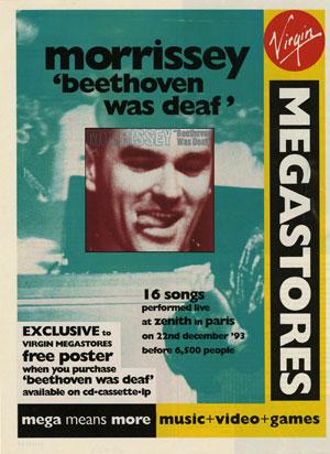 Morrissey, Beethoven was Deaf