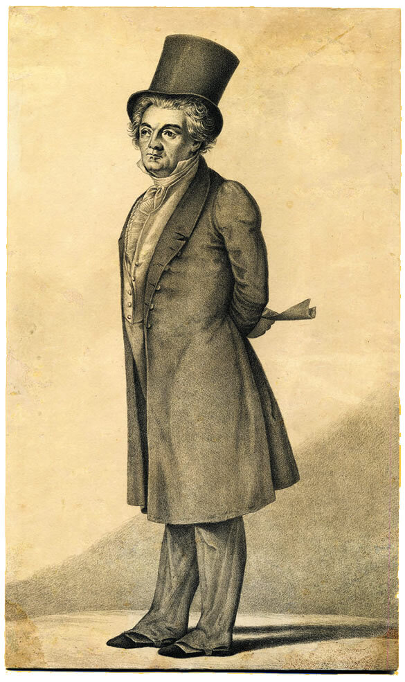 Lithograph of Beethoven in ca. 1826 by Martin Tejcek (1841); Gift of the American Beethoven Society, 1998