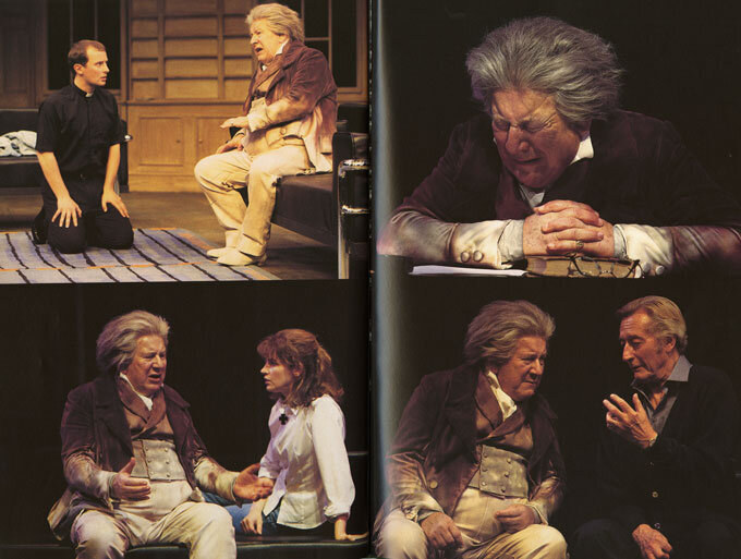 Color photographs in the program book for the performances at the Chichester Festival Theatre, May 29-July 21, 1996. The play was first produced in the United States by the Centre Theatre Group/Ahmanson Theater, Los Angeles.