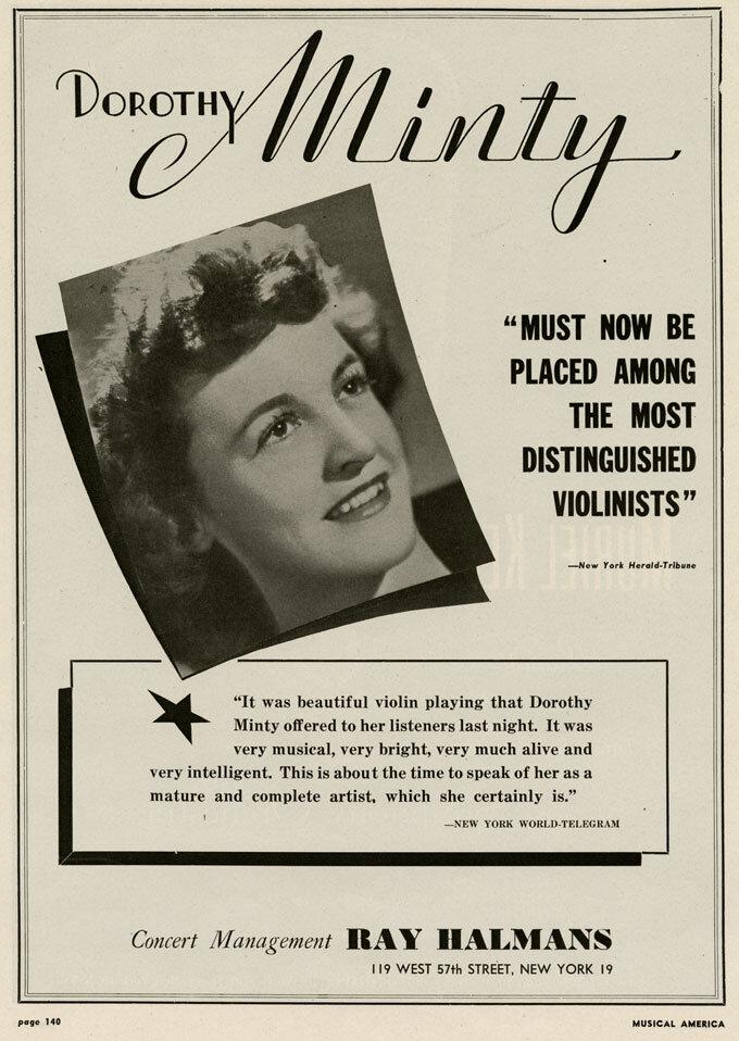 Dorothy Minty (1908-1986)