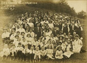 Beethoven Maennerchor, Ilion, New York, July 19, 1914